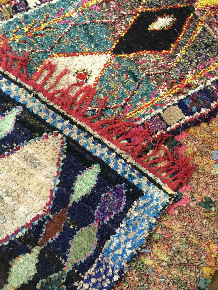 Awesome Moroccan Rag Rugs Found In Building 1 Of Green Front