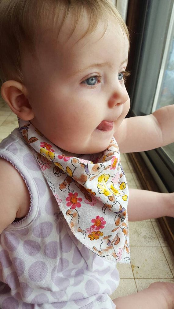 Love that these bib's add to baby's outfit instead of hiding it!
