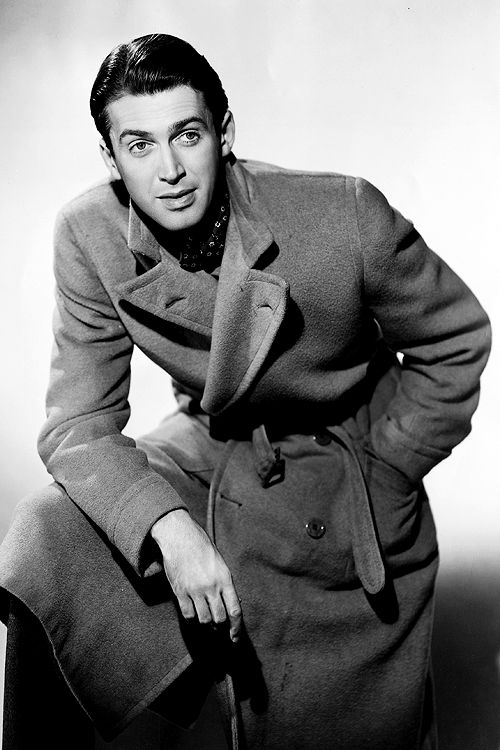 James Stewart- I dunno what it is, but he is just awesome. The only reason i would ever watch a black and white movie would be because of him. Or Elvis.