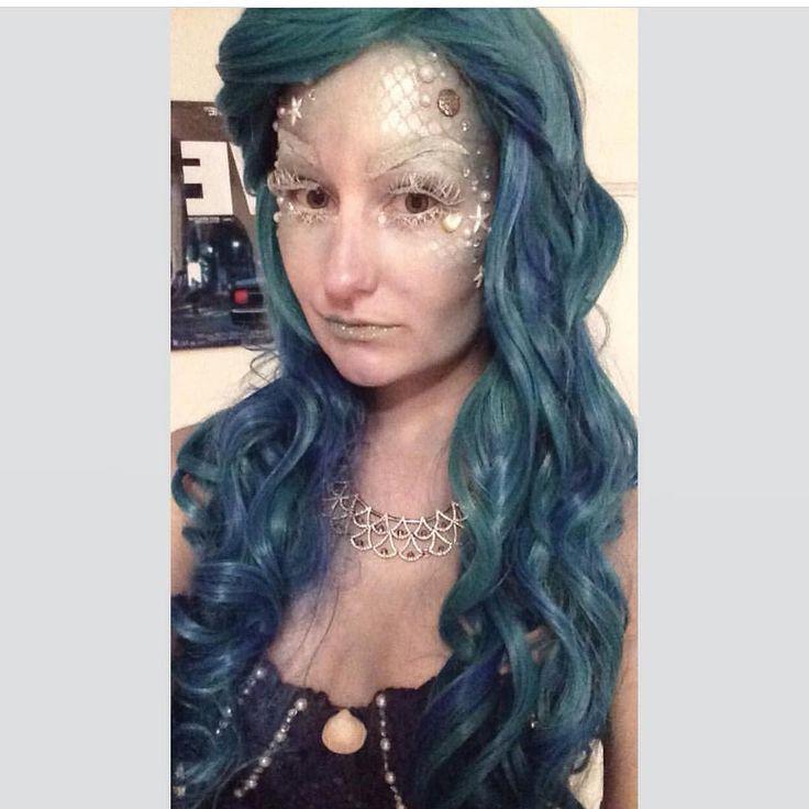 @atlanta93 Is a real life Mermaid  She is wearing Lush style: Aqua here  #lushwigsaqua #lushwigs #wigs #wig #mermaid #lushhair - Lushwigs.com