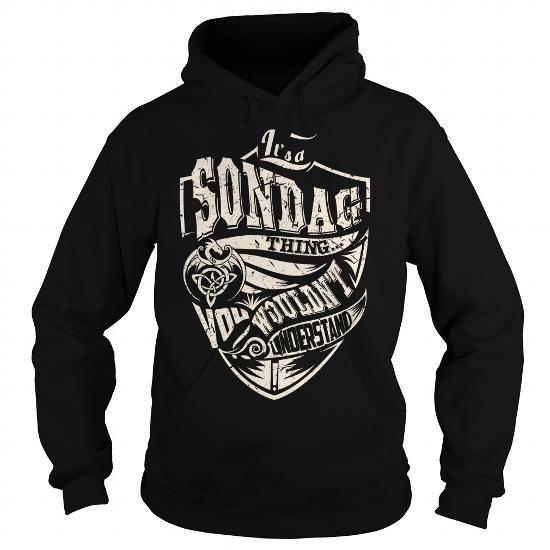 Awesome Tee Its a SONDAG Thing (Dragon) - Last Name, Surname T-Shirt Shirts & Tees