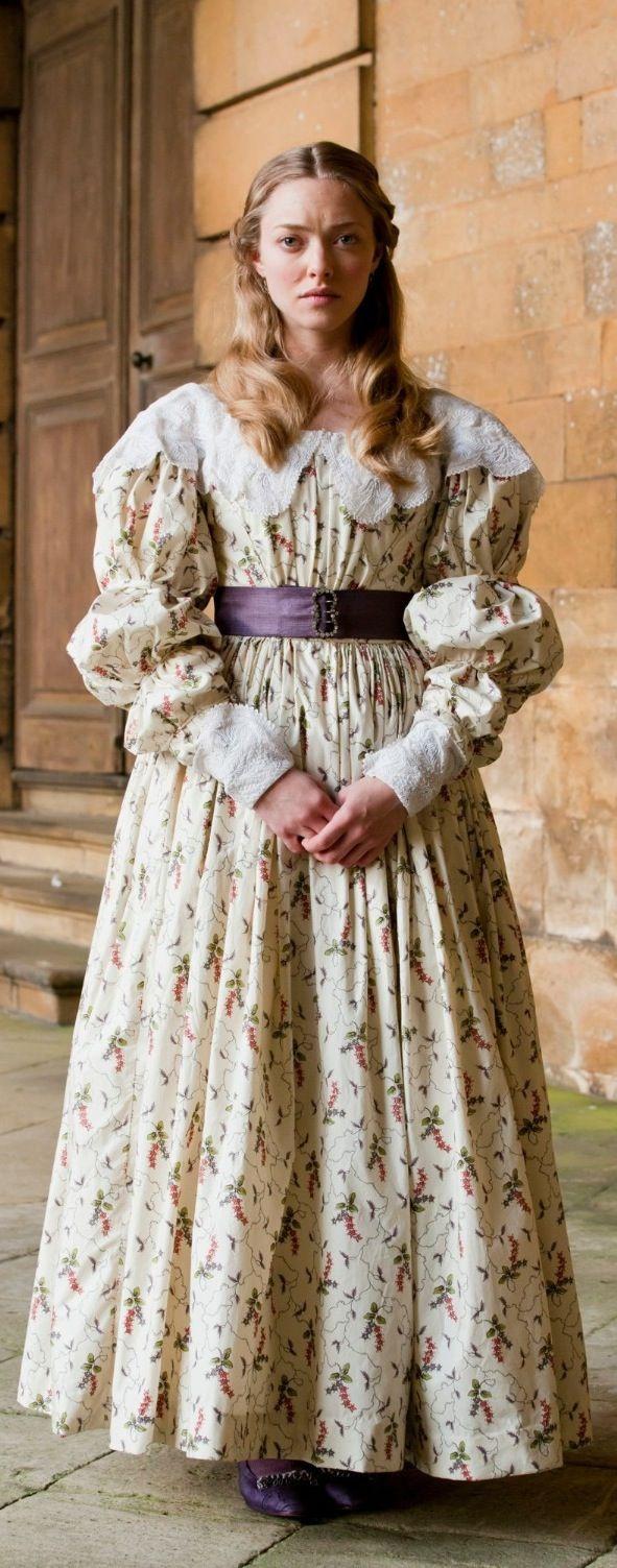 Amanda Seyfried as Cosette in 'Les Mis' - Costume Designer: Paco Delgado