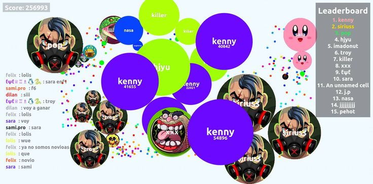 256993 agario score screenshot kenny nickname - Player: kenny / Score: 2569930 - kenny saved mass Wow... I think, that our scores were sometimes bigger, than the world record agarioplay #agario #agarioplay