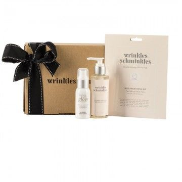 Wrinkles Schminkles 3-Step Neck Renewal Pack your wrinkles will disappear while you sleep.