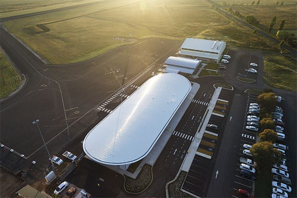 Orange Regional Airport ~ Cox Architects, in association with Geolyse (2015)