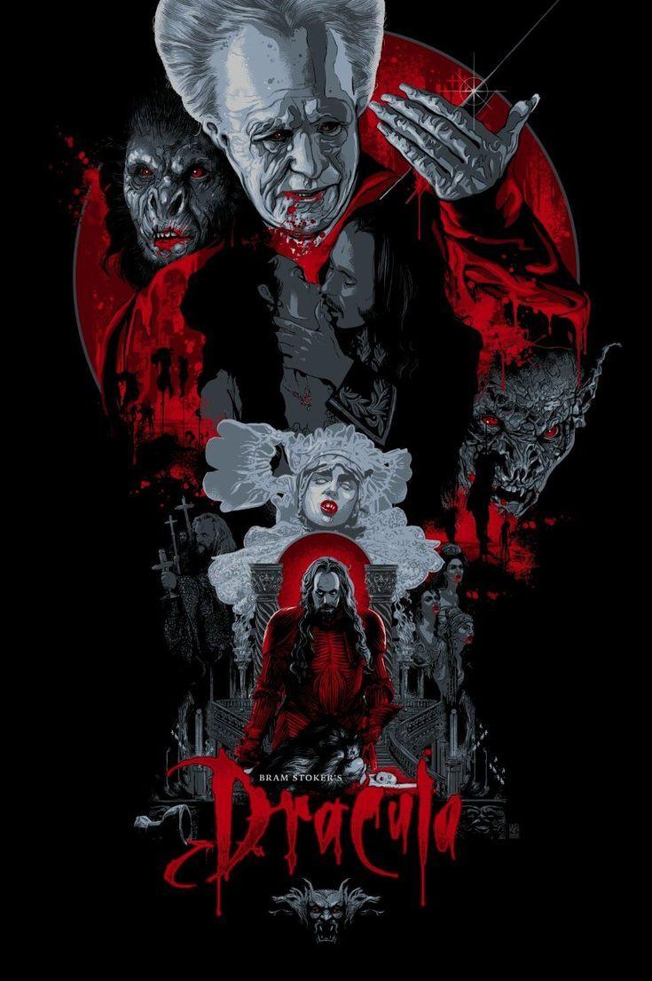 Bram Stoker 39 S Dracula 1992 971x1459 By Vance Kelly 971x1459 Bram Dracula Kelly Stoker39s Vance Horror Posters Horror Movie Art Movie Poster Art