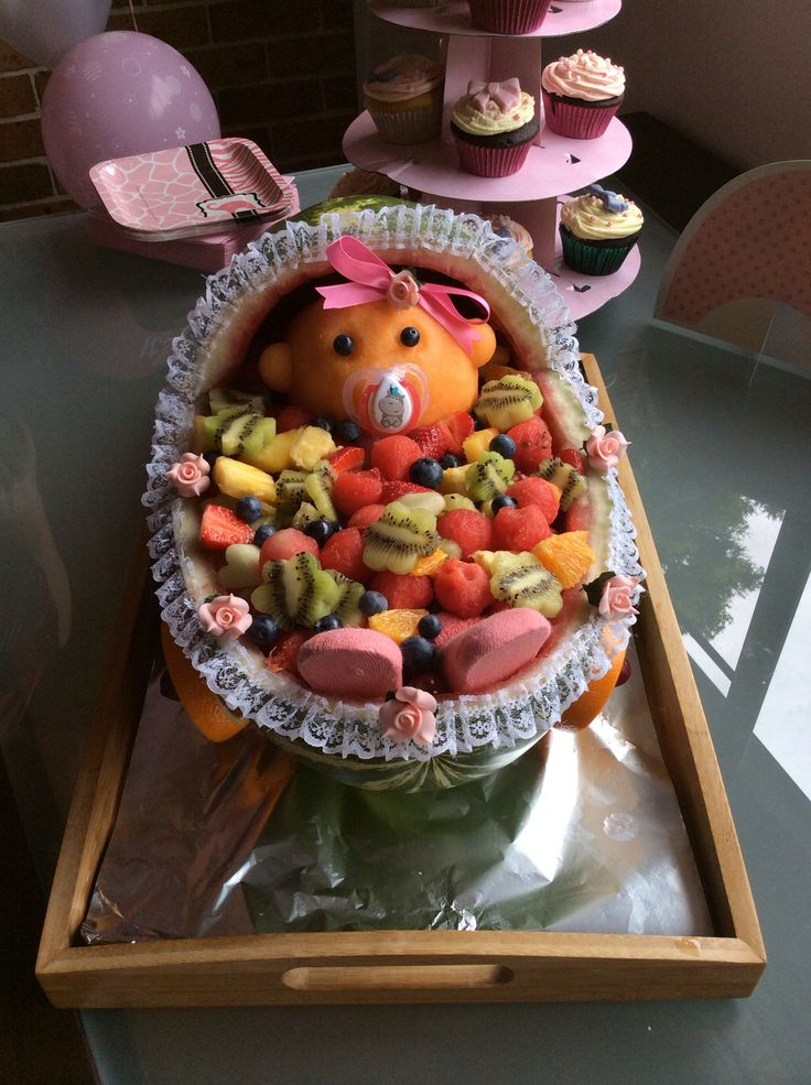 Baby shower fruit salad. Worked out a treat.