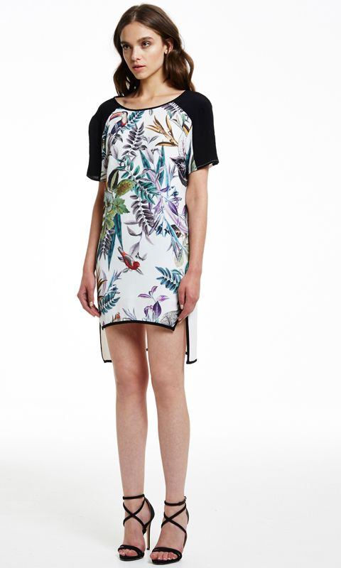 AlibiOnline - Botanical T-Shirt Dress by COOPER ST, $149.95 (http://www.alibionline.com.au/botanical-t-shirt-dress-by-cooper-st/)