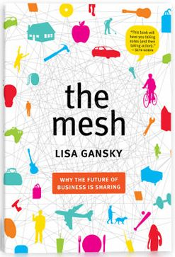 """Excerpt from """"The Mesh"""" in The Atlantic, on the sharing economy (ie, renting and borrowing instead of buying) #slowliving"""