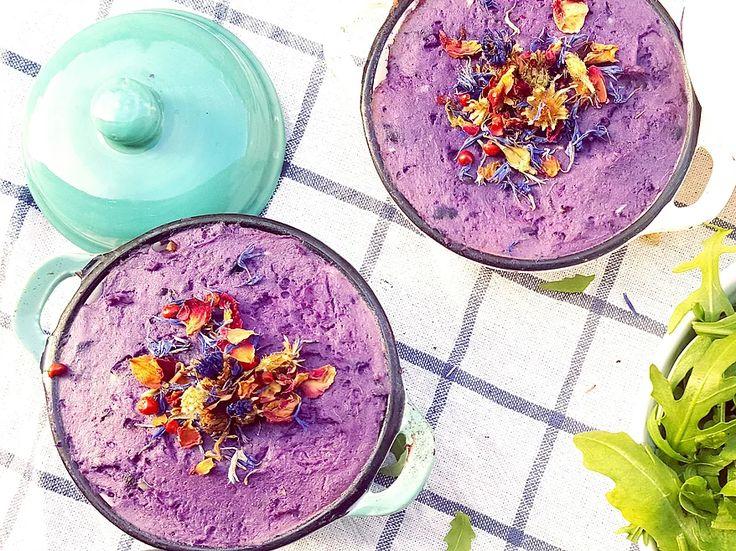 hachis parmentier vegan violet pomme de terre vitelotte