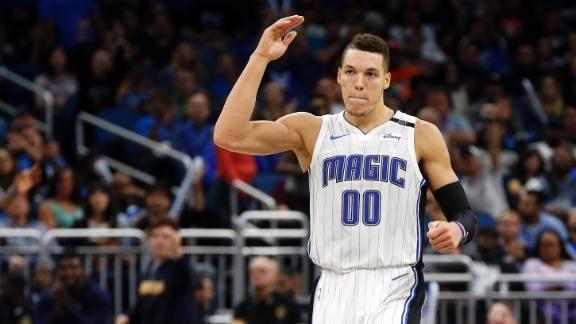 Gordon has 40 and 15, Magic beat Thunder to end 9-game skid - ABC News