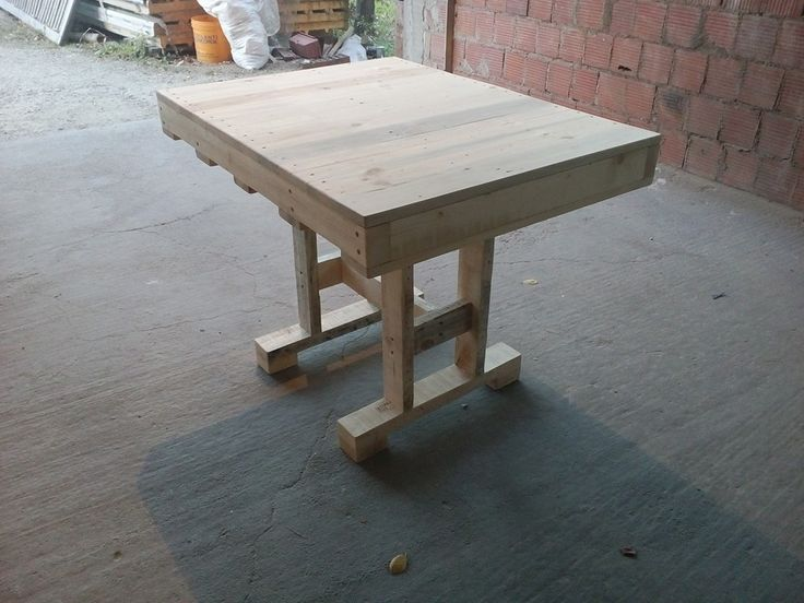 1000  ideas about pallet dining tables on pinterest