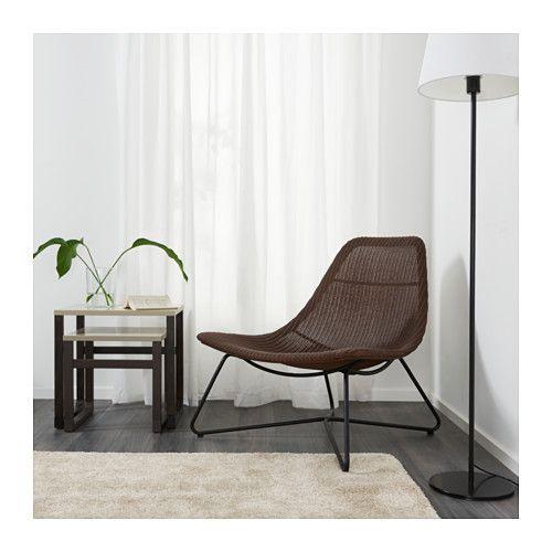 RÅDVIKEN Armchair IKEA Furniture made of natural fiber is lightweight, yet sturdy and durable.