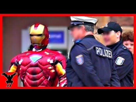 (Public Prank) IRON MAN in Real Life