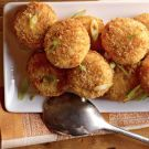 Oh I LOVE potatoes and cheese in all it's forms... Cheesy Potato Tots Recipe on Williams-Sonoma.com