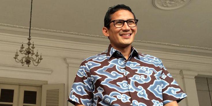 Sandiaga Uno Dipanggil Polsek Tanah Abang, Ada Apa? http://indonesiatoday.id/wp-content/uploads/2017/03/image-1-12.jpg MALANGTODAY.NET– Kepolisian Sektor Metro Tanah Abang memanggil Sandiaga Salahuddin Uno Jumat (10/03). Pria yang akrab disapa Sandiaga Uno itu dipanggil untuk dimintai keterangan sebagai saksi atas kasus dugaan pencemaran nama baik dan fitnah. Dikutip dari liputan6, kasus yang menyeret namanya tersebut tindak lanjut atas pelaporan dengan nomor polisi