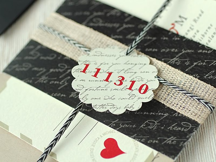 ruby & wilow: Save The Date, Vintage Paper, Romantic Wedding, Wedding Invitations, Paper Punch, Letters Inspiration, Cool Ideas, Invitations Ideas, Love Letters