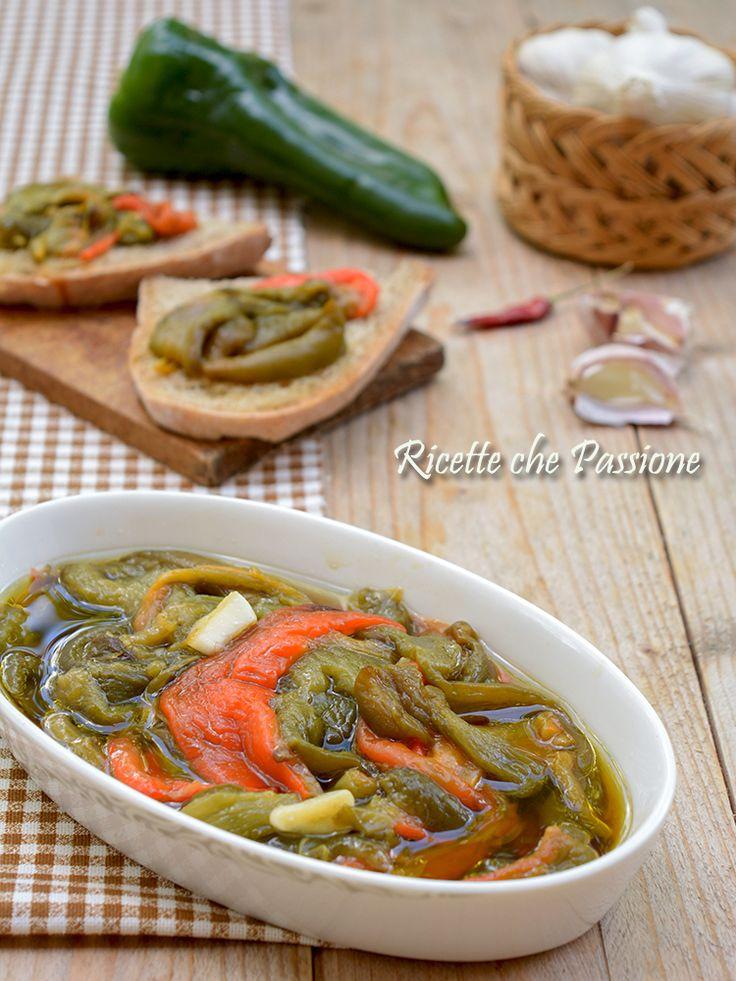 Peperoni arrostiti, su brace o al forno, sempre una bontà Ricette che Passione