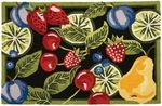Fresh Fruit Kitchen Area Rug