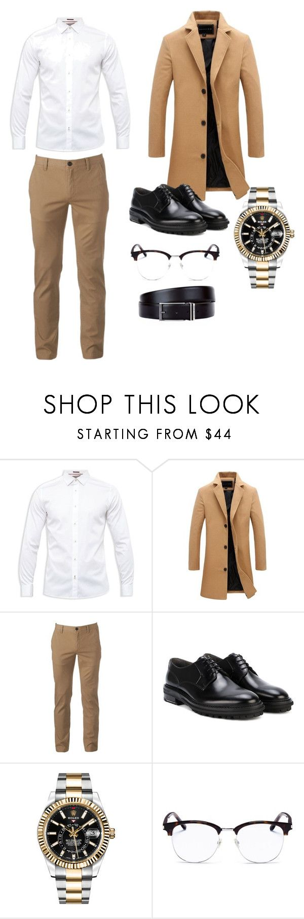 """[V] Handsome Devil"" by hanyoongun ❤ liked on Polyvore featuring Ted Baker, Urban Pipeline, Lanvin, Rolex, Yves Saint Laurent, HUGO, men's fashion and menswear"