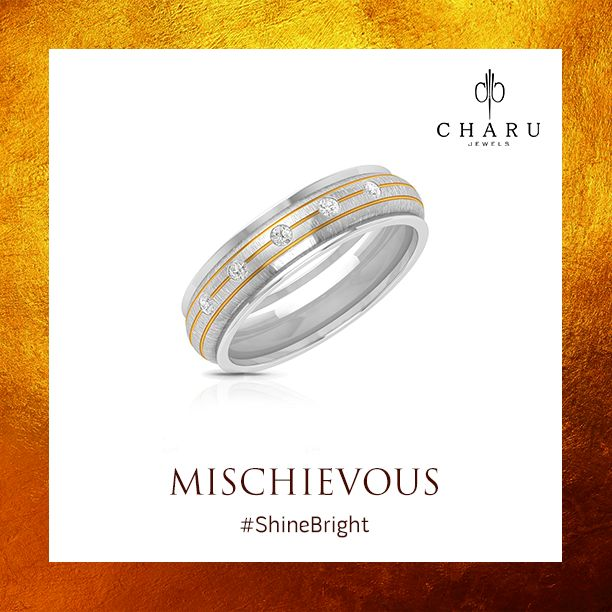 A mischief touch of diamonds to uplift your glamour quotient. #Mischievous #CharuJewels #Jewels #Jewelry