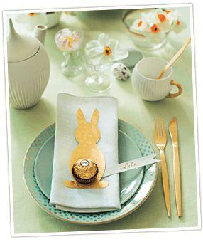 Tischdekoration für Ostern basteln mit Ferrero Rocher (Cool Crafts Holidays)