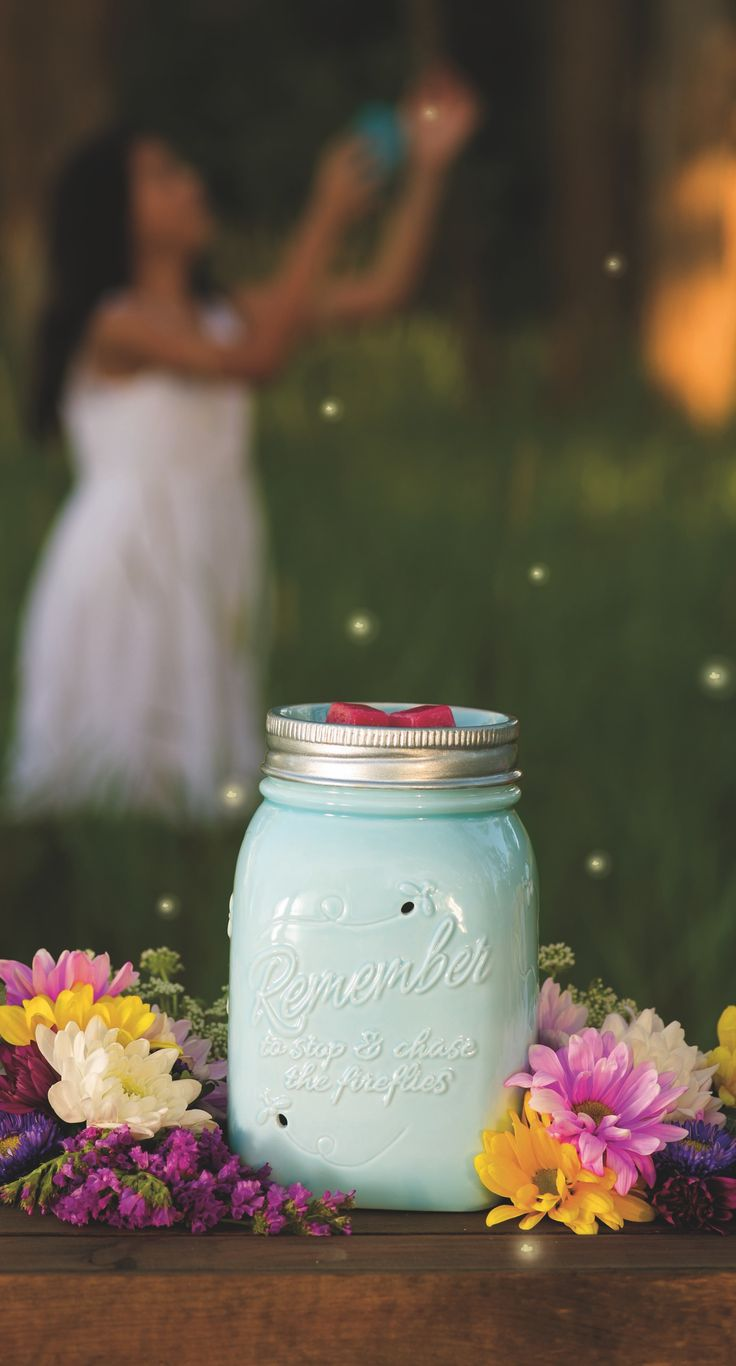 """I can't wait to get my hands on this SUPER ADORABLE warmer...introducing """"Chasing Fireflies""""...Scentsy's September Warmer of the Month!!"""