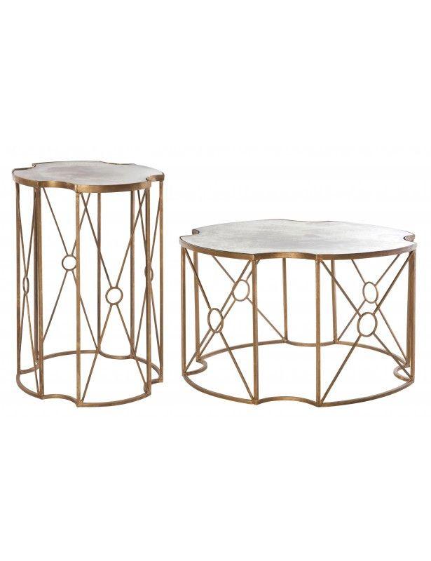 Marlene Coffee And Side Table U2013 Chenzia Designs