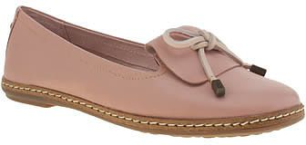 Womens pink beige hush puppies pale pink adena piper flats from Schuh - £62 at ClothingByColour.com