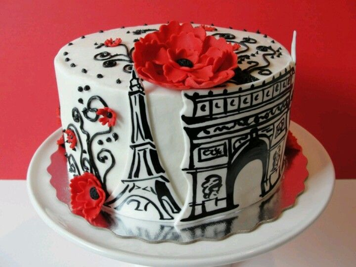 Paris cake I. love. this.