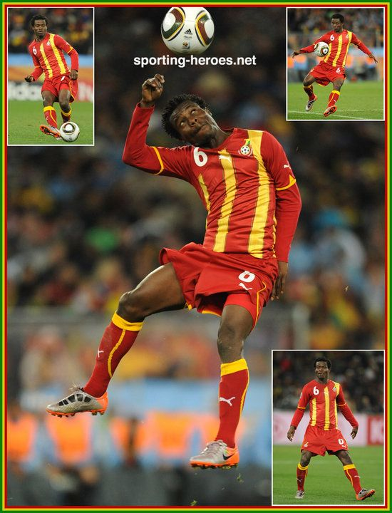 Anthony Annan - Ghana - FIFA World Cup 2010 (USA, Uruguay)