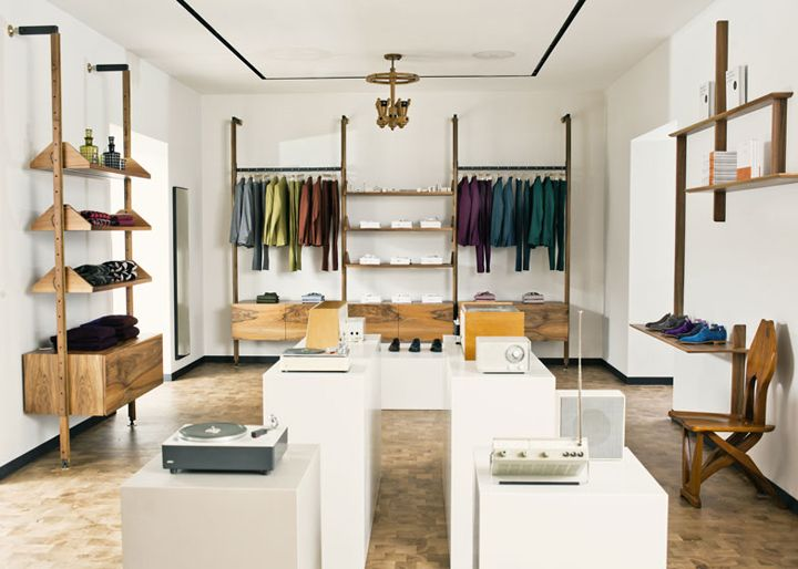 Paul Smith flagship store by Paul Smith & 6a Architects, London » Retail Design Blog