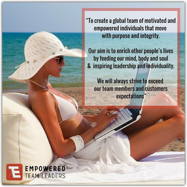 """This is the Vision and Goal I set when I first started my Team """"Empowered Team Leaders"""" and it still stands true today.  #empoweredteamleaders #empowerment #vision #mission #empowering #inspiring #motivating #integrity #givevalue #leadwithpurpose #leadwithintegrity #humility #empoweringyouintoaction"""