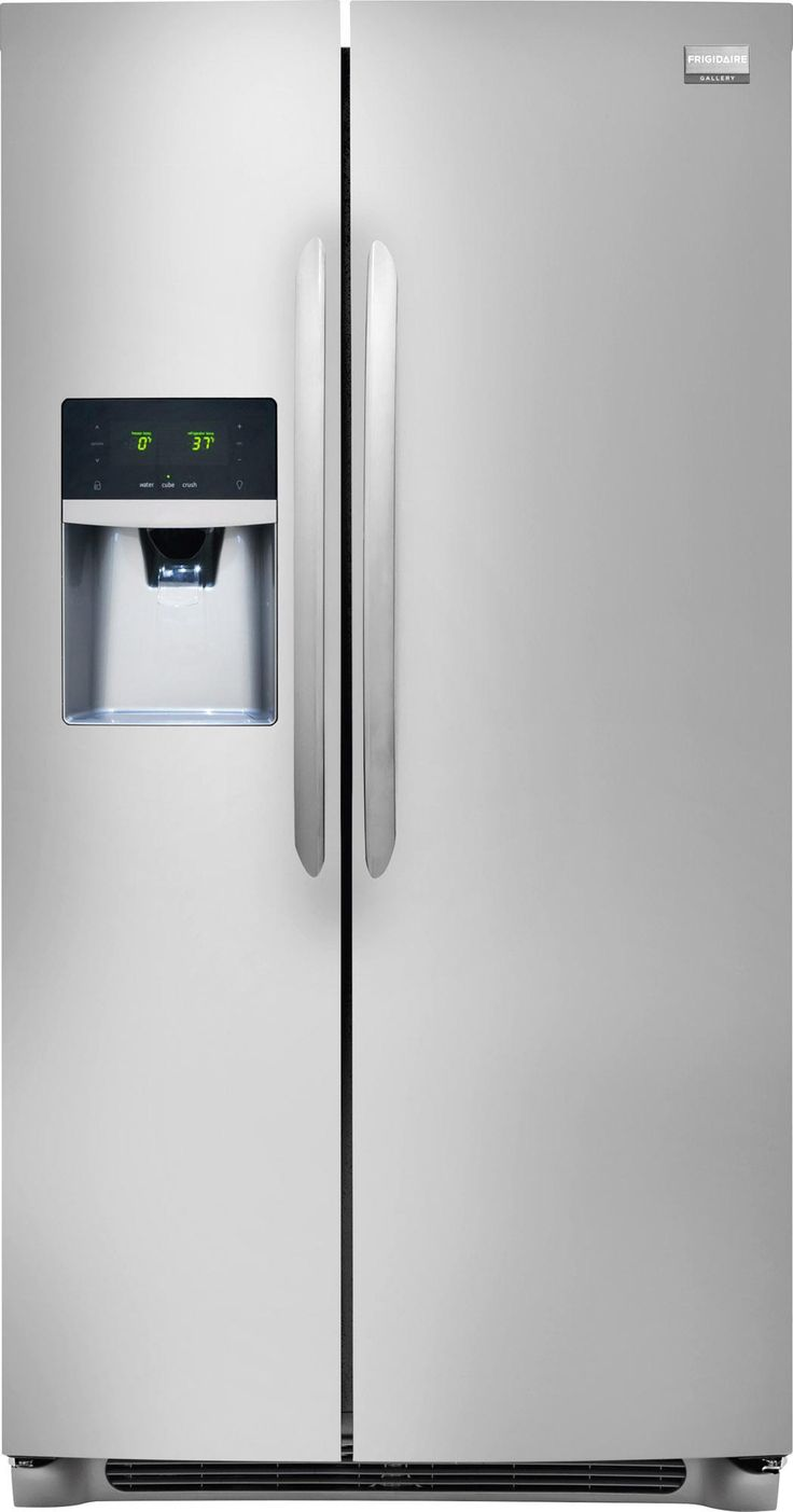 Frigidaire Gallery Refrigerators 26 Cu. Ft. Side-by-Side Refrigerator by Frigidaire