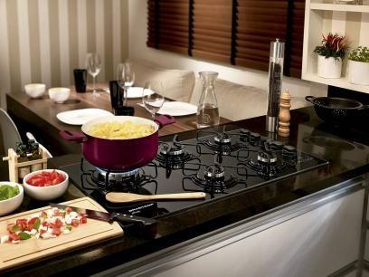 Cooktop 5 Bocas Brastemp Ative! BDT85 - a Gás com Função Touch Timer com as melhores condições você encontra no Magazine Luizadoeduardo. Confira!
