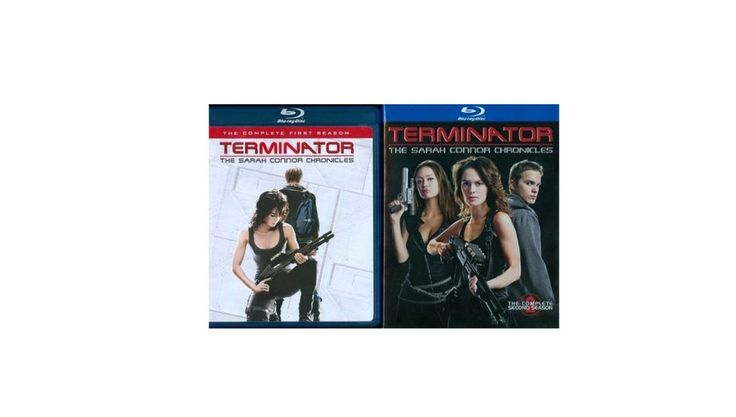 Terminator: The Sarah Connor Chronicles Seasons 1 & 2 Blu-ray for $19.99 at Best Buy
