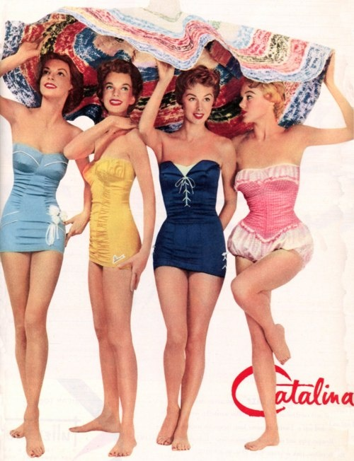 Catalina 1950s Swimsuits