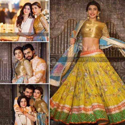 Urwa Hocane & Farhan Saeed Wedding Mehndi Pictures