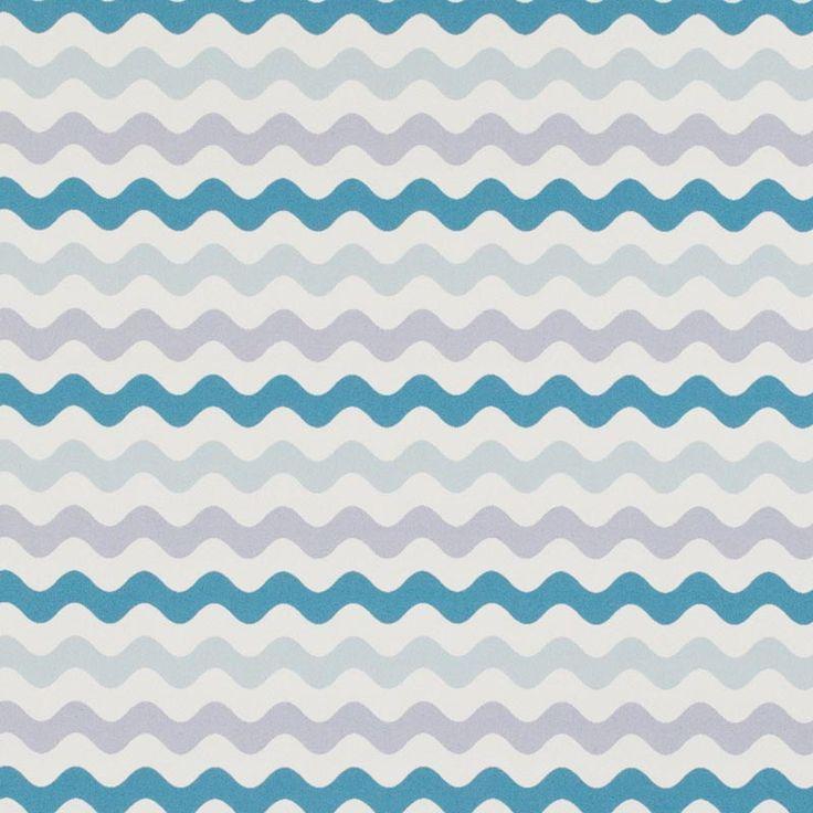 Warwick Fabrics : MERIMBULA TURQUOISE