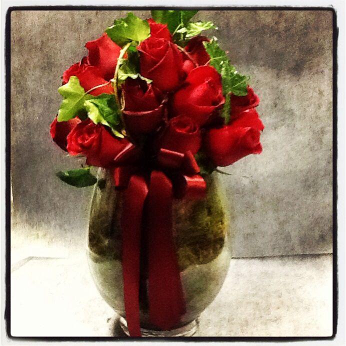 Red roses design. www.fleurus.com.au