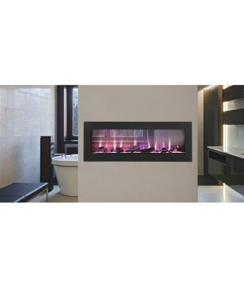 napoleon clearion 50 see thru electric fireplace fireplace rh pinterest at
