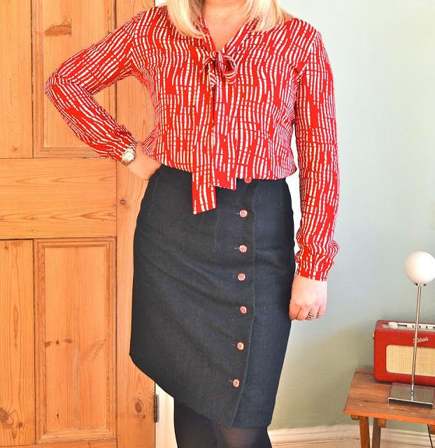 Handmade Jane: Sew Over It Pussy Bow Blouse