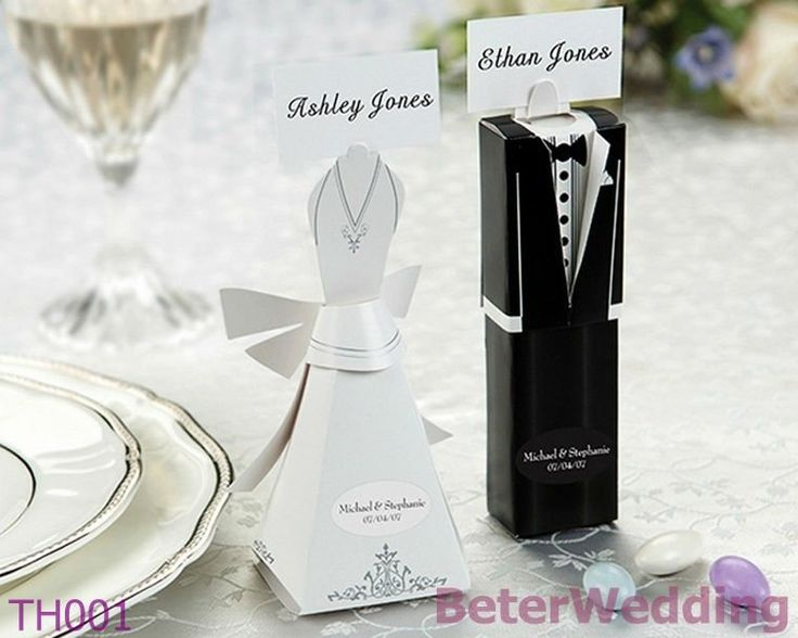 120pcs, 60set Bride and Groom Favor Boxes and Place card holders TH001 with blank cards http://shanghai-Beter.taobao.com   #WeddingGift #WeddingFavors #BabyshowerFavors #weddings @Wedding Favors #WorldwideShipping #Doorgifts  #Weddinggifts Beterwedding@Gmail.com  #manila #me #party #birthday #girls #Indonesia #jakarta #jkt #souvenirs #partysupplies #hotel #bride #malaysia #giveaways #taipei #happiness #love #baby #holiday #Partysupplies #supply #uae #baptism