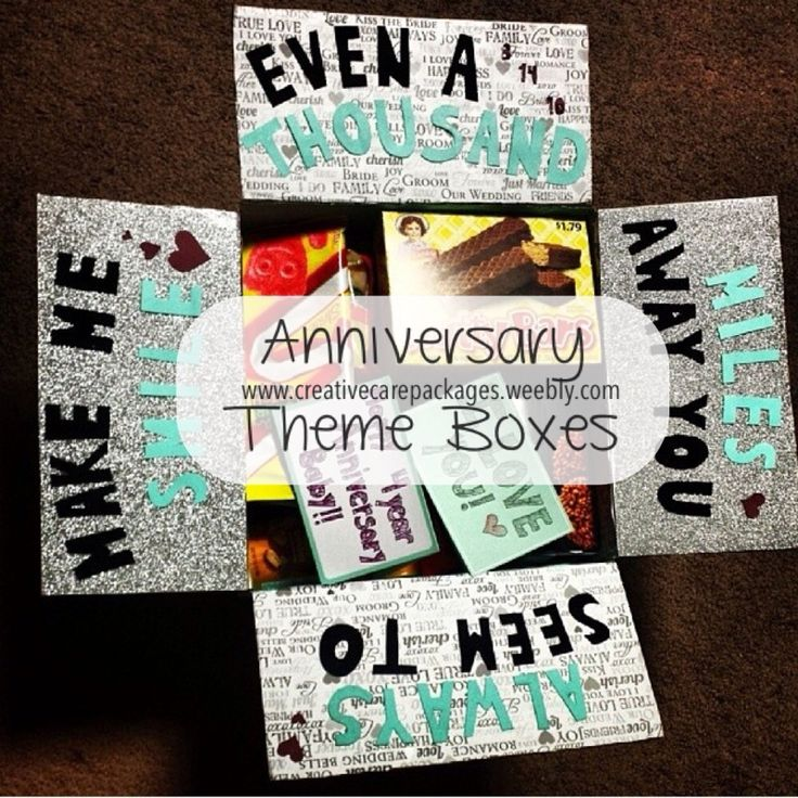 Creative Care Packages Theme boxes