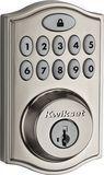 Kwikset - 914 SmartCode Touchpad Electronic Deadbolt Lock - Satin Nickel