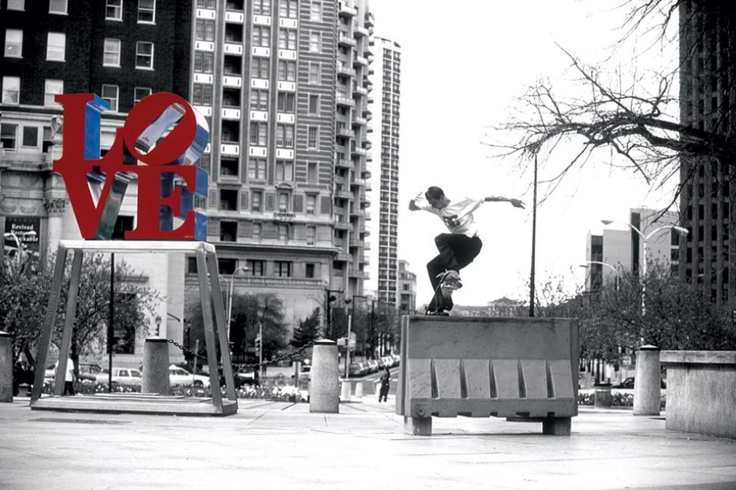Josh Kalis - Philadelphia - Love Park