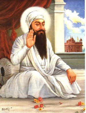 Fifth Guru Arjan Dev collected all the work of the first four Gurus and compiled them into the Adi Granth in 1604