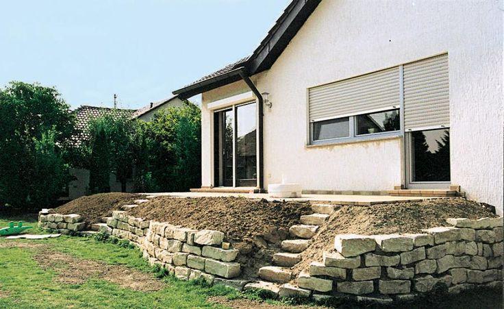 1000 ideas about natursteinmauer on pinterest. Black Bedroom Furniture Sets. Home Design Ideas