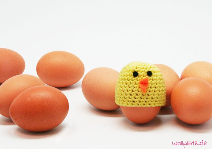 Eierwärmer häkeln - Entweder für einen lieb-dekorierten Ostertisch oder einfach so. Diese Anleitung ist gratis, schnell gehäkelt und auch für Anfänger.