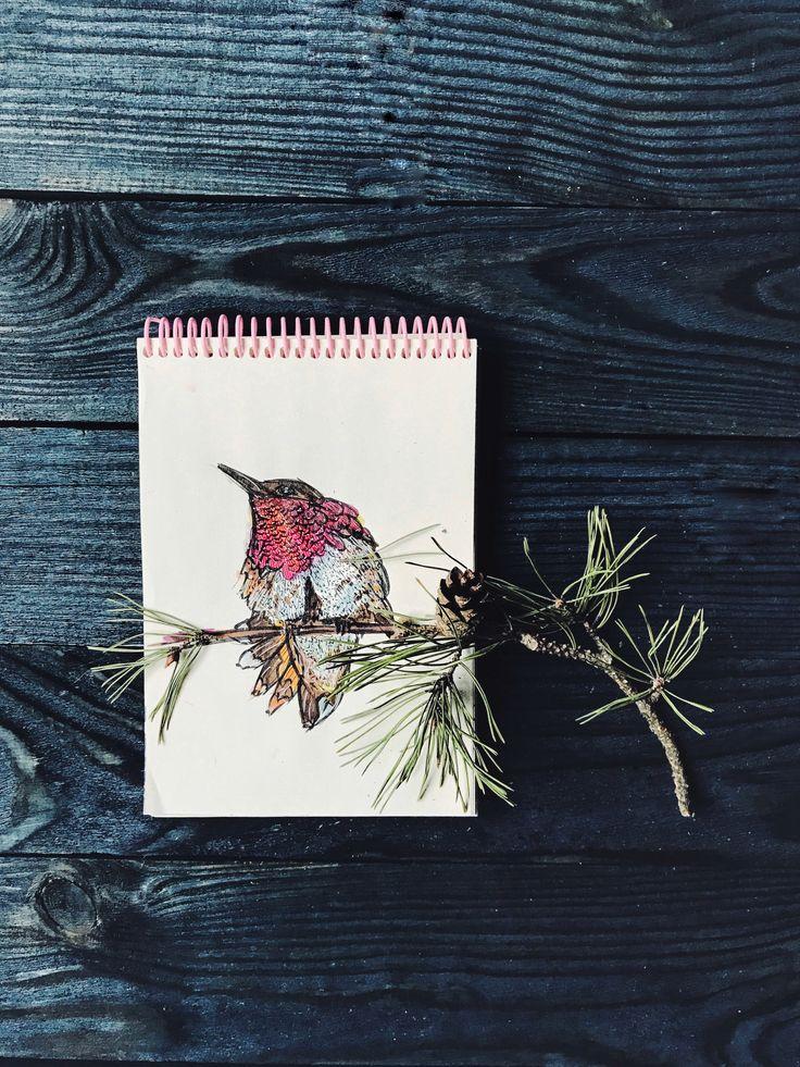 #маркеры #рисование #птицы #настроение #фотофон